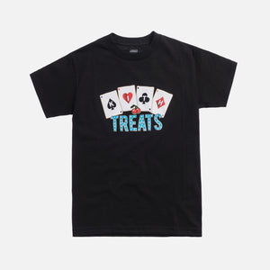 Kith Treats Cards Tee - Black Image 1