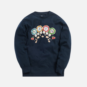 Kith Treats Chips L/S Tee - Navy Image 1