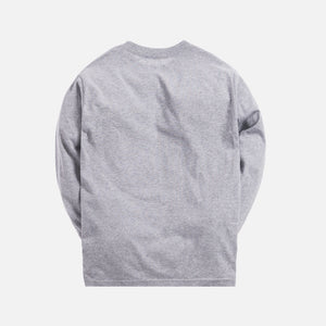 Kith Treats Chips L/S Tee - Heather Grey