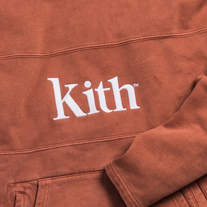 Kith Double Pocket 2 Hoodie - Clay