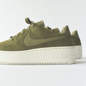 best authentic b41ba db36f Nike WMNS AF1 - Sage / Olive / White – Kith
