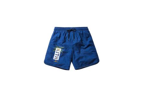 Kith Rockaway Palm Swim Trunk - Navy