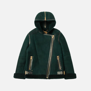 Kith Women x Ugg Moto Jacket Forest - Green
