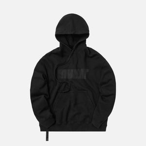 Unravel Project Motion Terry Oversized Hoodie - Black