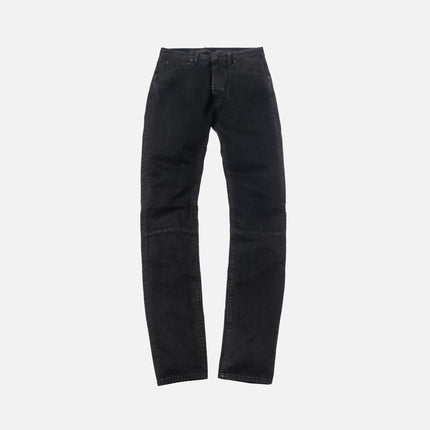 Unravel Project Waxed Basic Skinny Denim - Black