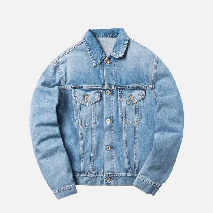 Unravel Project Intro H Rigid Denim Chopped Jacket -  Indigo