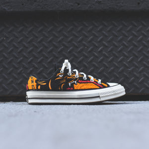 Converse x UNDFTD Chuck 70 Ox - Black / White / Orange
