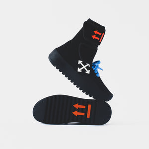 Off-White Moto Wrap Sneaker - Black / White