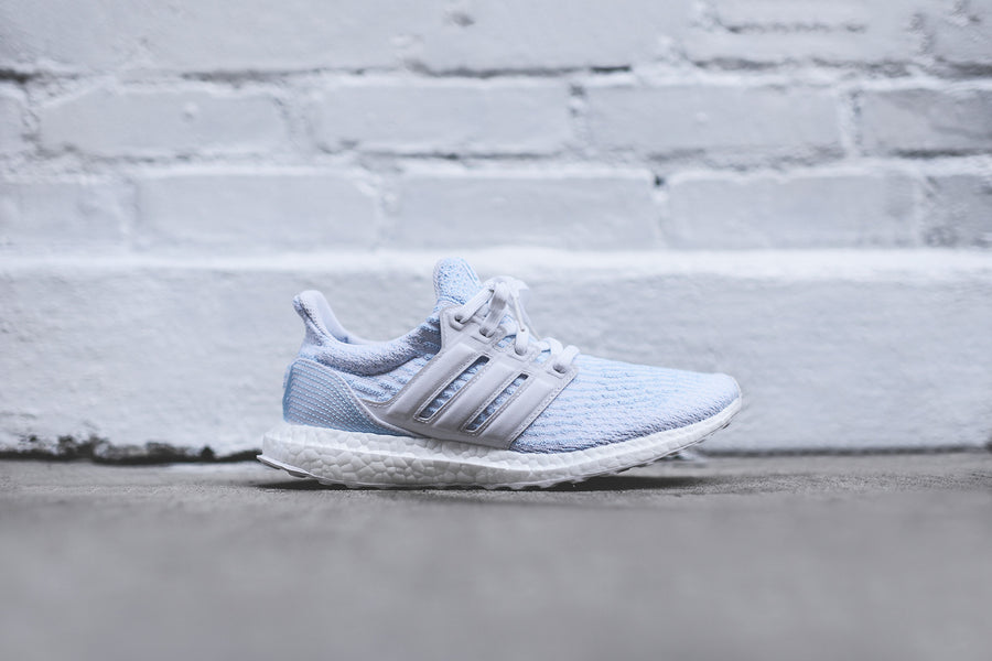 adidas x Parley UltraBoost - White / Icey Blue