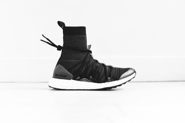 adidas by Stella McCartney UltraBoost X Mid - Black / Grey / Steel