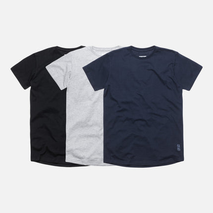 KITH Classics Undershirt 3-Pack - Black / Navy / Grey