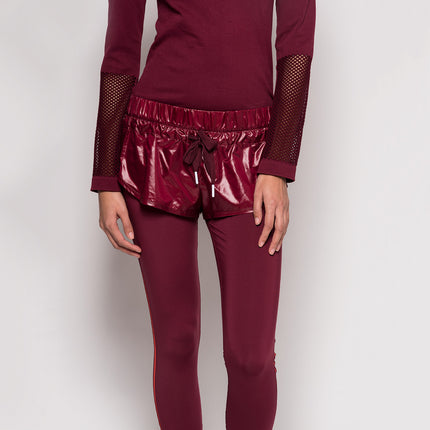 adidas by Stella McCartney Shorts Over Tight - Cherry Wood