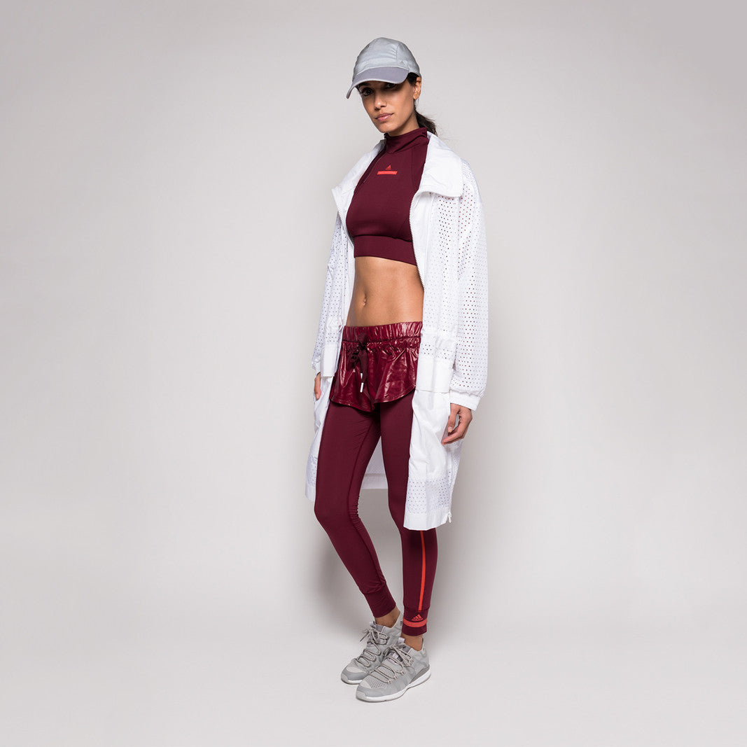 adidas by Stella McCartney Climacool Crop Top - Cherry Wood