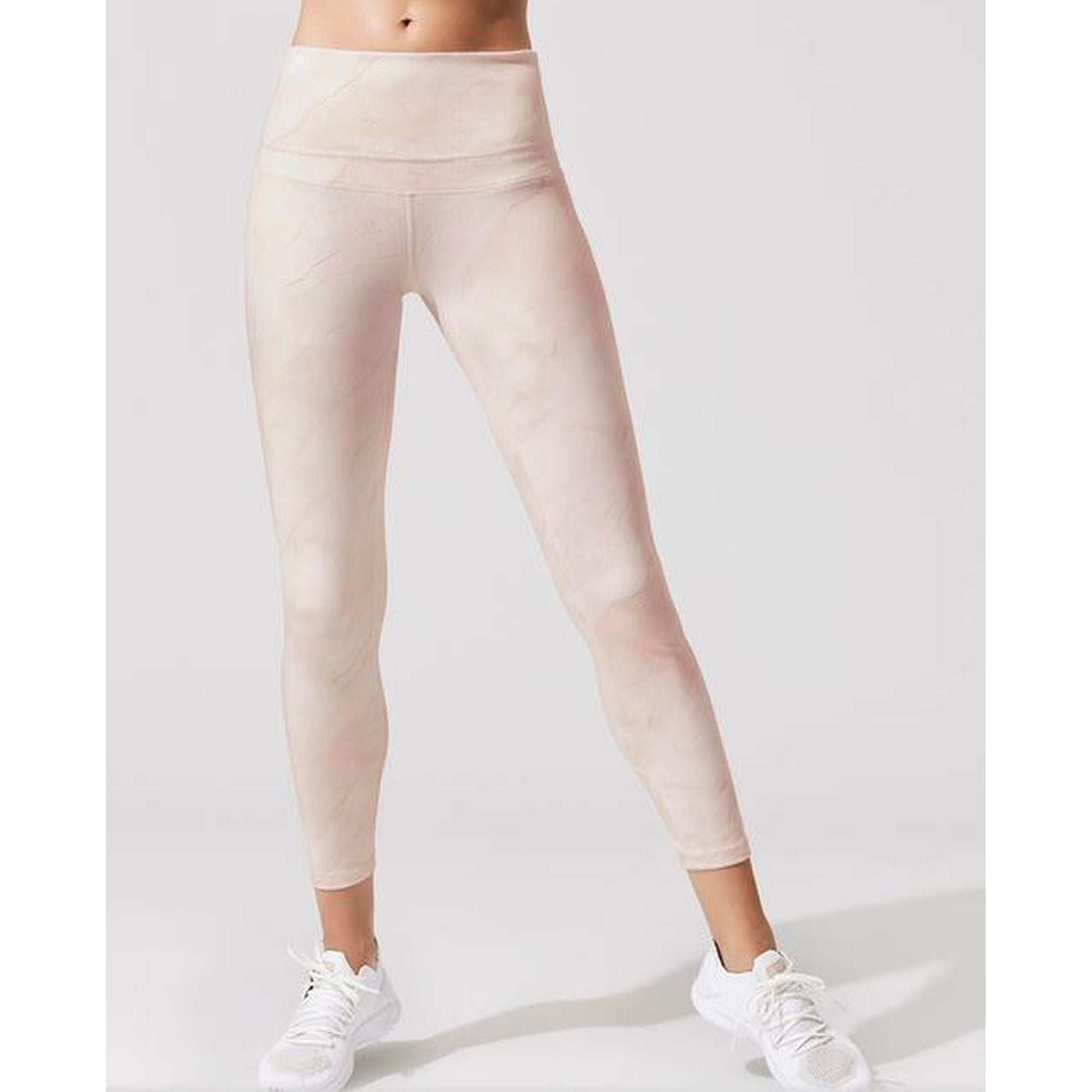 Varley Biona Tight in Rust Marble - Pink