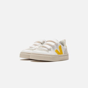 Veja Toddler Small V-10 Velcro - White Tonic