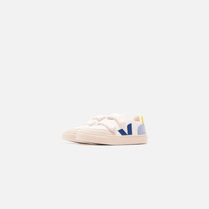Veja Junior V12 Velcro - White / Multi / Steel