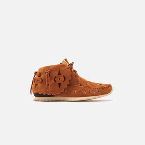 Visvim FBT Bearfoot Perf Folk - Light Brown