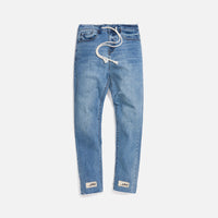 Val Kristopher Logo Denim - Blue Thumbnail 1