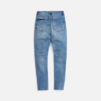 Val Kristopher Logo Denim - Blue Thumbnail 2