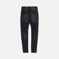 Val Kristopher Logo Denim - Faded Black Thumbnail 2