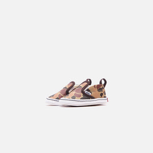 Vans Vintage Camo Crib Slip-On - Chocolate Torte