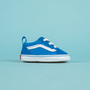 f911fdaaf8 Vans Crib Old School - Indigo Bunting   True White