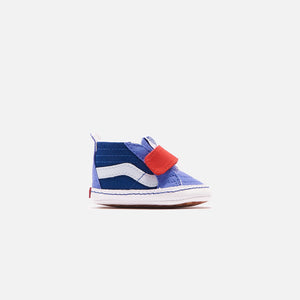 Vans SK8-Hi Crib - Baja Blue / High Risk Red