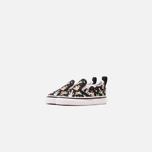 Vans Toddler Classic Slip-On - Cactus Black / True White