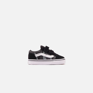 Vans Toddler Old Skool V Pattern Camo - Black / True White