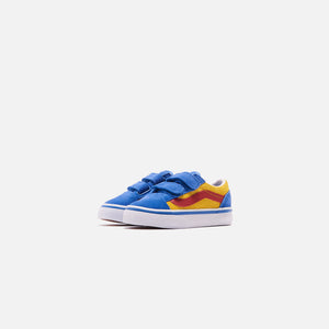 Vans Toddler Old Skool V - Nebulas Blue / Lemon Chrome