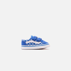 Vans Toddler Old Skool Racers Edge - Blue / True White