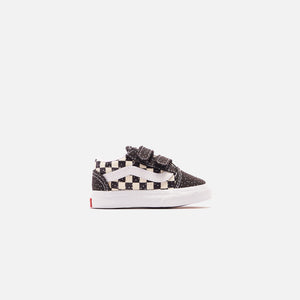 Vans Toddler Old Skool V - Confetti Black / True White