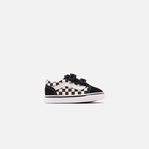 Vans Toddler Primary Check Old Skool V - Black / White