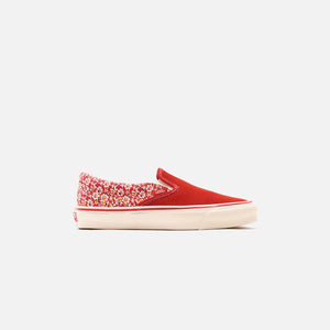Vans U OG Classic Slip-On LX Micro Daisy - Racing Red