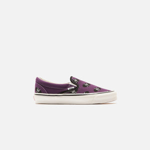 Vans x Wacko Maria U OG Classic Slip-On LX - Purple / Records