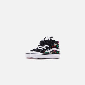 Vans Toddler Sk8-HI Reissue 138 V Surf Dinos - Black / True White Image 2