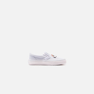Vans Classic Slip-On Sequin Patch - Ballad Blue / True White