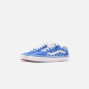 Vans Kids Old Skool Racers Edge - Blue / True White