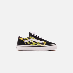 Vans UY Old Skool - Slime Flame Black / True White