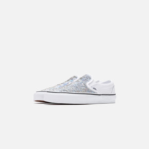 Vans Flipping Sequins Classic Slip-On - White Image 2