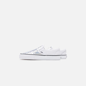 Vans Flipping Sequins Classic Slip-On - White Image 4