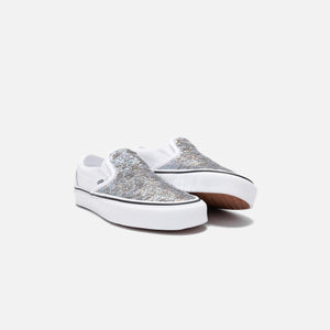 Vans Flipping Sequins Classic Slip-On - White Image 3