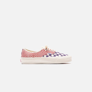 Vans OG Authentic LX - Logo Check / Indigo / Racing Red