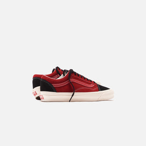 Vans OG Old Skool LX - Chili Pepper / Black