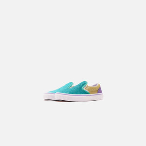 Vans Kids Classic Slip-on - Mermaid Glitter / Color Block