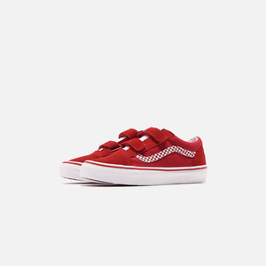 Vans Kids Old Skool V - Chili Pepper / True White