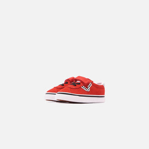 Vans Kids Sport V Checkerboard - High Risk Red / True White