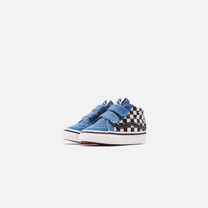 Vans Toddler SK8-Mid Reissue V Checkerboard - Black / Navy