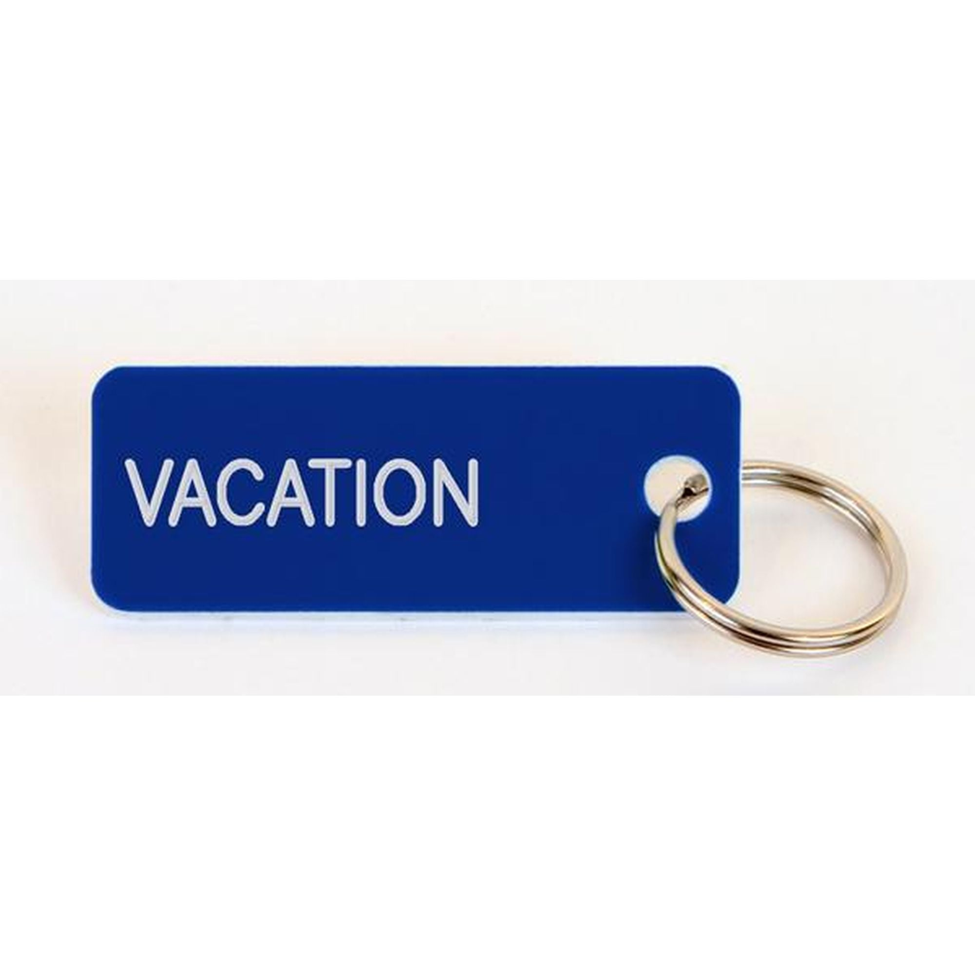 Various Projects Royal Blue Vacation Key Chain - Blue