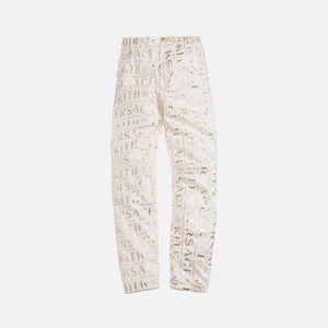 Kith x Versace Monogram Track Pant - White / Gold